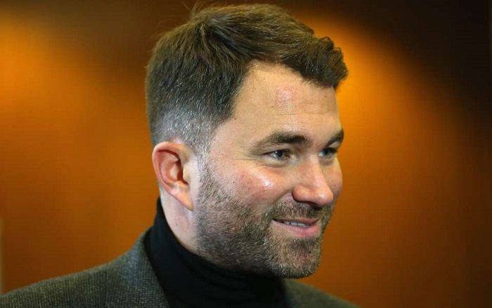Image result for eddie hearn 2020